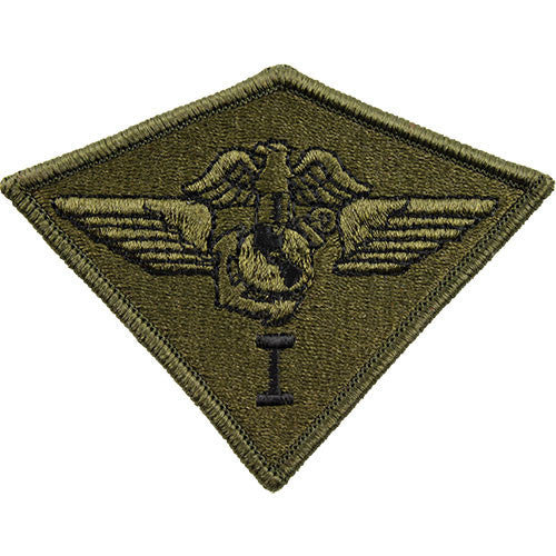 Marine Corps Patch: First Air Wing - subdued (NON-RETURNABLE)