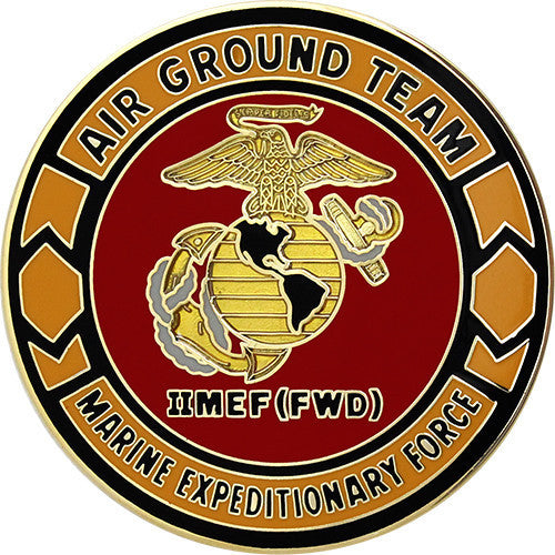 Army Combat Service Identification Badge (CSIB): 2nd Marine Expeditionary Force IIMEF (FWD)