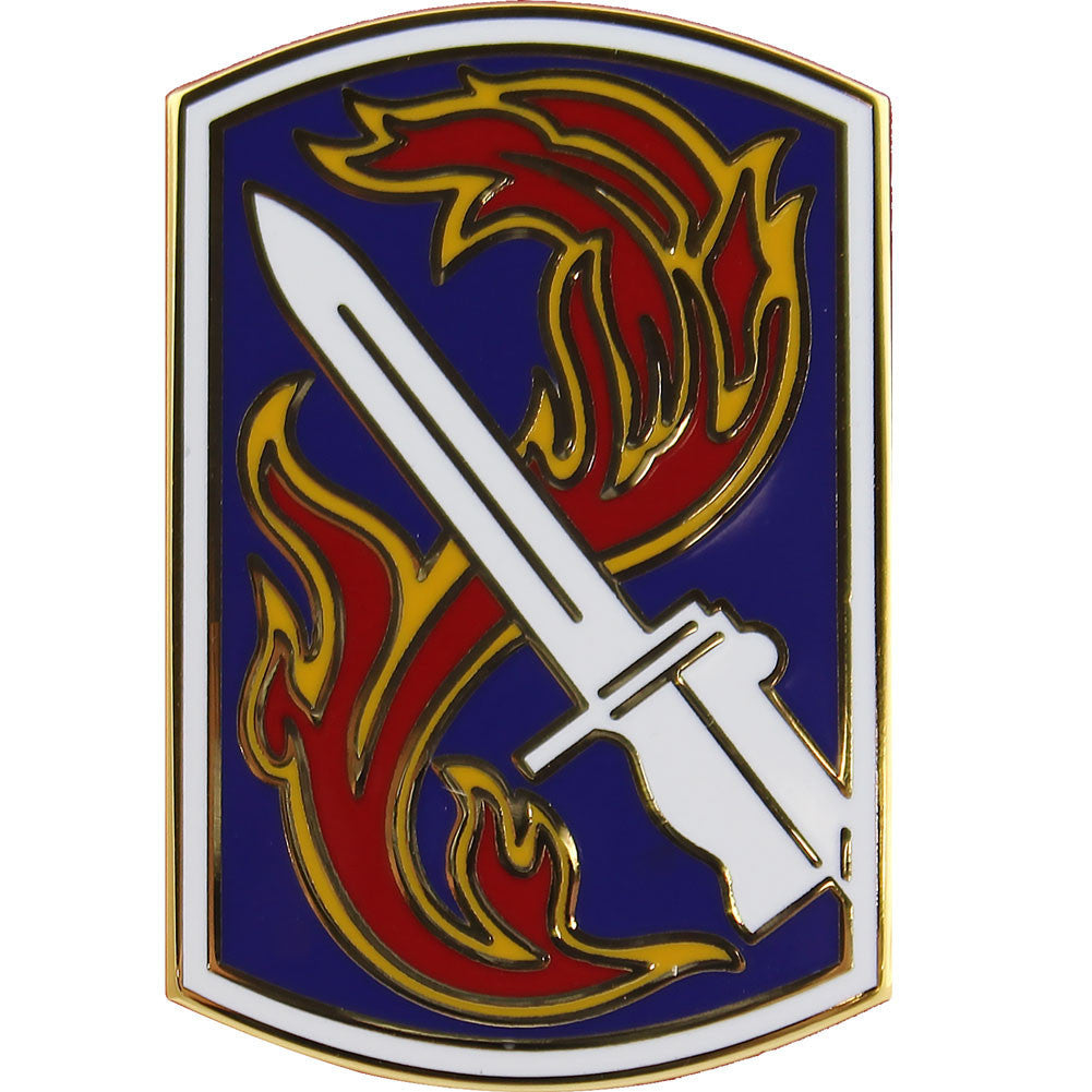 Army Combat Service Identification Badge (CSIB): 198th Infantry Brigade