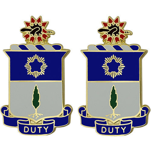 Army Crest: 21st Infantry Regiment - Duty