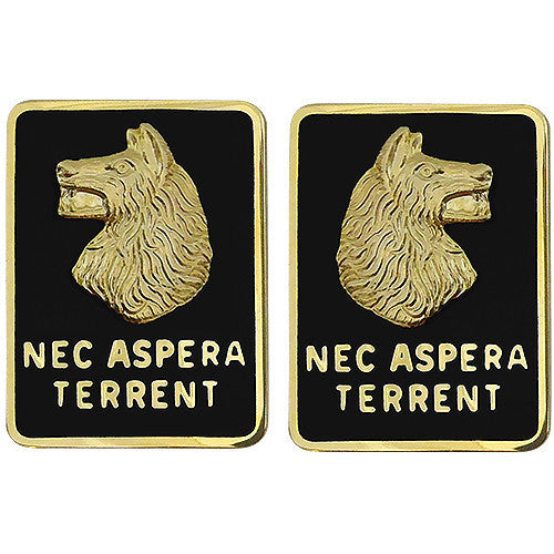 Army Crest: 27th Infantry Regiment - Nec Aspera Terrent