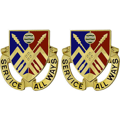 Army Crest: 29th Support Battalion - Serve All Ways