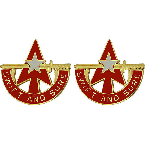 Army Crest: 32nd Air and Missile Defense Command - Swift and Sure