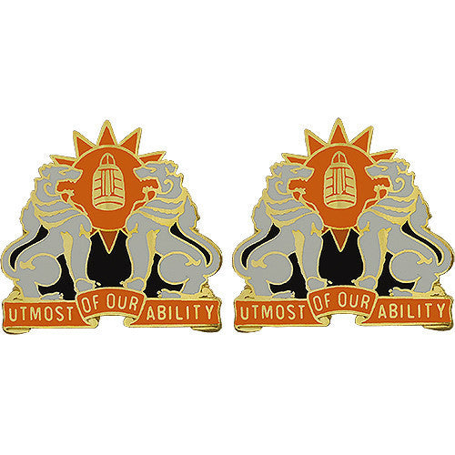 Army Crest: 35th Signal Brigade - Utmost of Our Ability