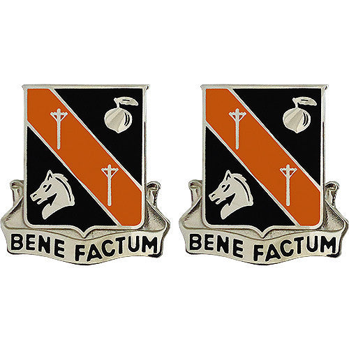 Army Crest: 40th Signal Battalion - Bene Factum