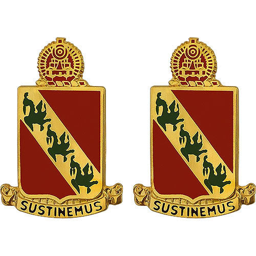 Army Crest: 43rd Air Defense Artillery - Sustinemus