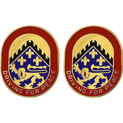 Army Crest: 44th Support Battalion - Driving for Peace