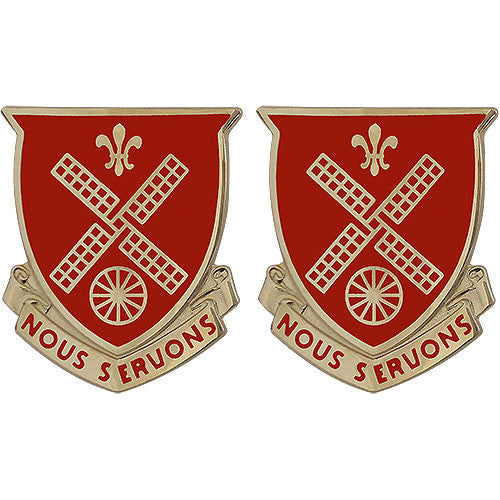 Army Crest: 52nd Engineer Battalion - Nous Servons