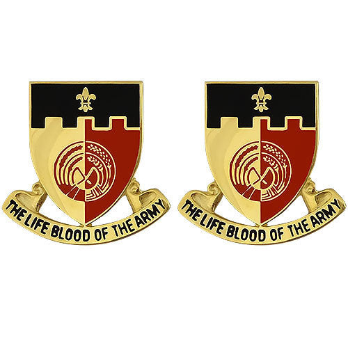 Army Crest: 64th Support Battalion - The Life Blood of the Army