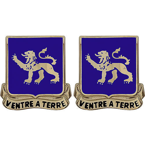Army Crest: 68th Armor Regiment - Ventre a Terre