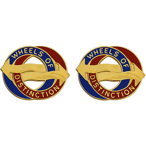 Army Crest: 68th Support Battalion - Wheels of Distinction