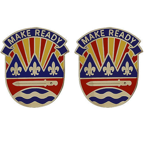 Army Crest: 75th Training Command - Make Ready