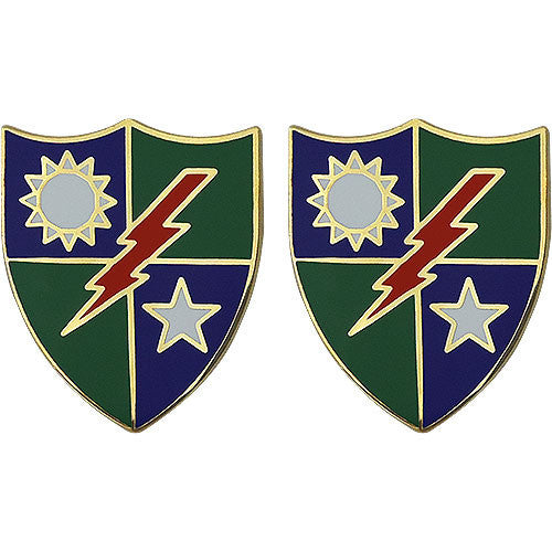 Army Crest: 75th Ranger Regiment: Infantry