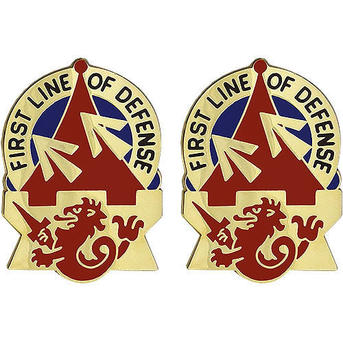 Army Crest: 94th Air Defense Artillery - First Line of Defense