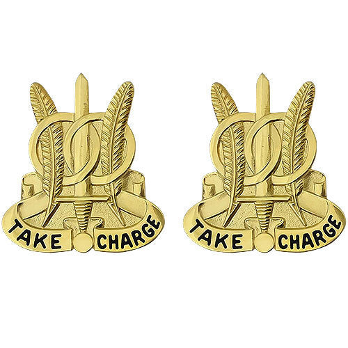 Army Crest: 97th Military Police Battalion - Take Charge