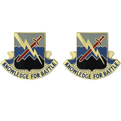 Army Crest: 102nd Military Intelligence Battalion - Knowledge for Battle