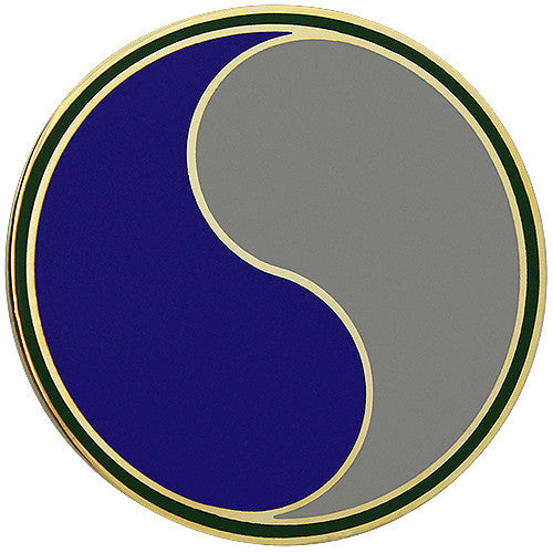 Army Combat Service Identification Badge (CSIB):  29th Infantry Division