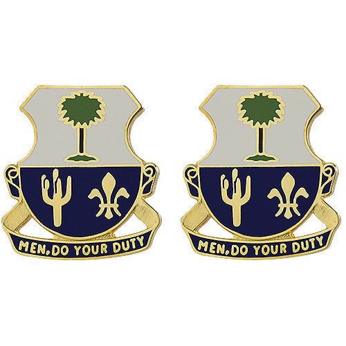 Army Crest: 163rd Infantry Regiment - Men Do Your Duty