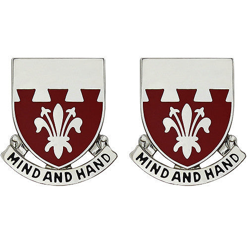 Army Crest: 169th Engineer Battalion - Mind and Hand