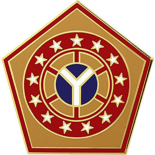 Army Combat Service Identification Badge (CSIB):  108th Sustainment Brigade