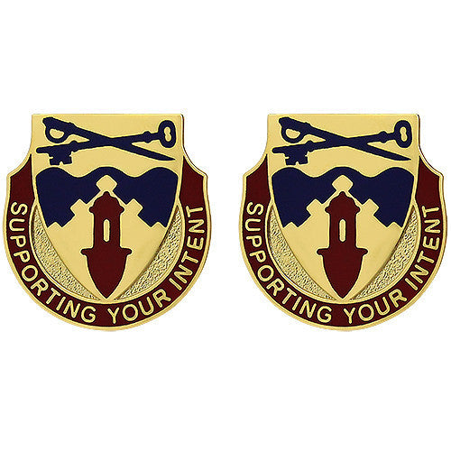 Army Crest: 292nd Support Battalion - Supporting Your Intent