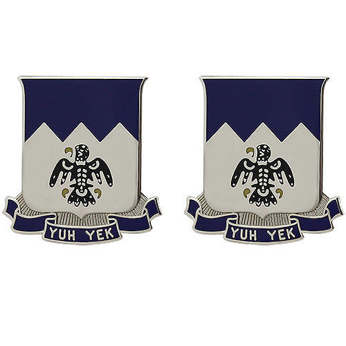 Army Crest: 297th Infantry: Alaska Army National Guard - Yuh Yek