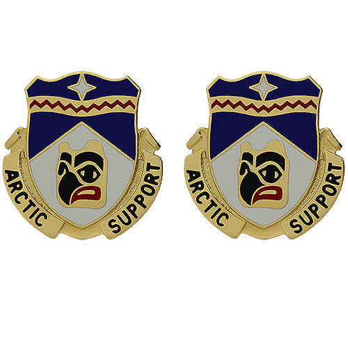 Army Crest: 297th Support Battalion - Arctic Support