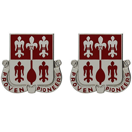 Army Crest: 299th Engineer Battalion - Proven Pioneers