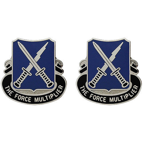 Army Crest: 301st Military Intelligence - The Force Multipher
