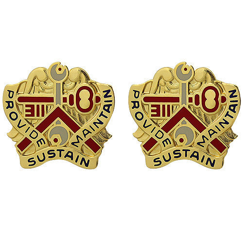 Army Crest: 311th Sustainment Command - Provide Sustain Maintain