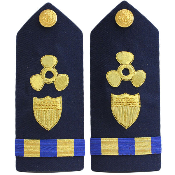 Coast Guard Shoulder Board: Warrant Officer 2 Naval Engineering