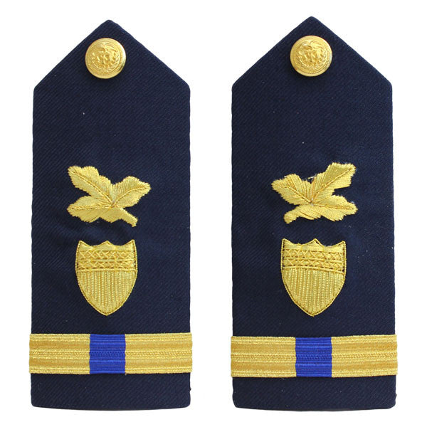 Coast Guard Shoulder Board: Warrant Officer 4 Finance and Supply