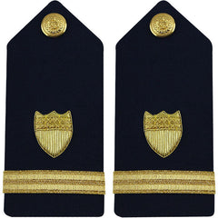 Coast Guard Shoulder Board: Ensign - female