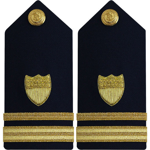 Coast Guard Shoulder Board: Lieutenant Junior Grade - female