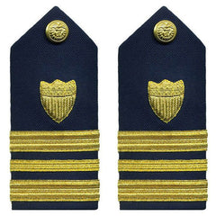 Coast Guard Shoulder Board: Lieutenant Commander - female