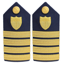 Coast Guard Shoulder Board: Captain - female