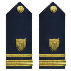 Coast Guard Shoulder Board: Lieutenant Junior Grade