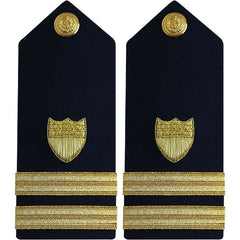 Coast Guard Shoulder Board: Senior Lieutenant