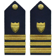Coast Guard Shoulder Board: Lieutenant Commander
