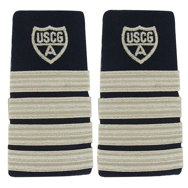 Coast Guard Auxiliary Shoulder Board: District Capt and Distric Chief of Staff