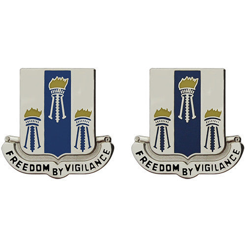 Army Crest: 502nd Military Intelligence Battalion - Freedom by Vigilance