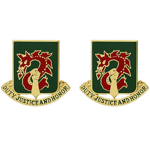 Army Crest: 504th Military Police Battalion - Duty, Justice and Honor