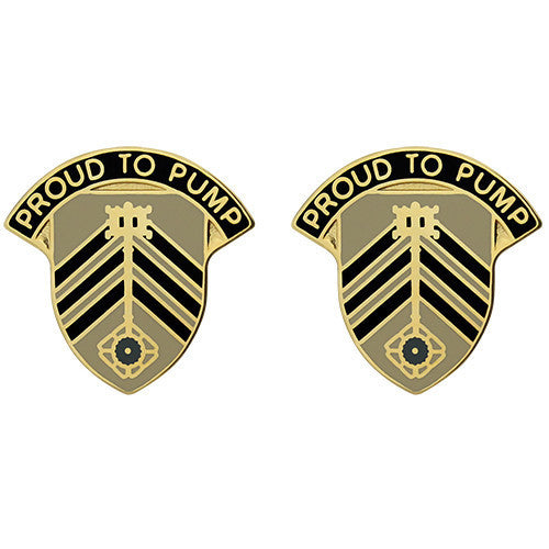 Army Crest: 505th Quartermaster Battalion - Proud to Pump