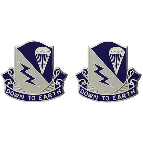 Army Crest: 507th Infantry - Down to Earth