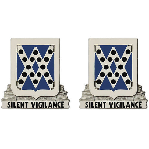 Army Crest: 524th Military Intelligence Battalion - Silent Vigilance