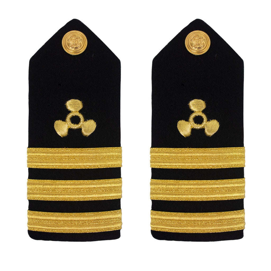 Merchant Marine Shoulder Board: PropellerCommander