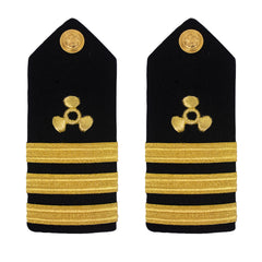 Merchant Marine Shoulder Board: Propeller Commander