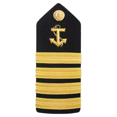 Merchant Marine Shoulder Board: Anchor Captain