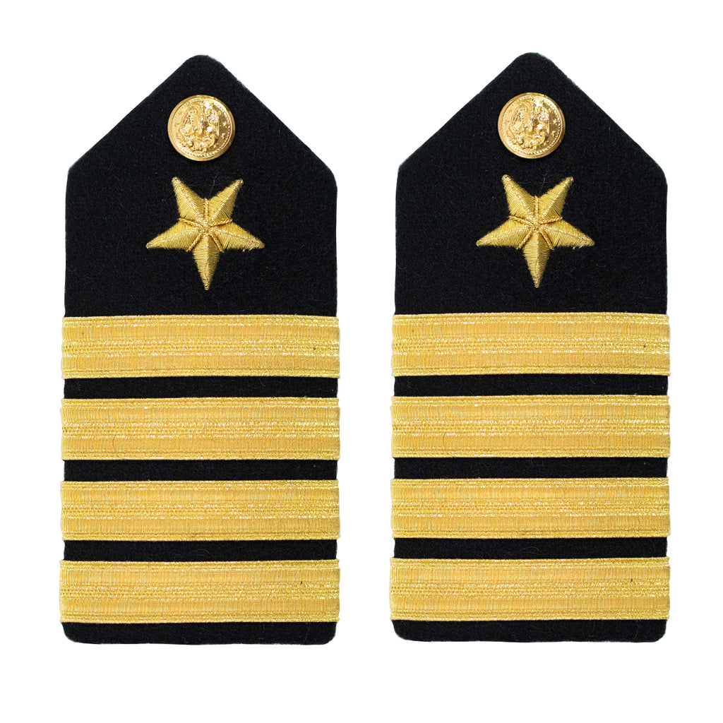 Navy Shoulder Board: Line Captain - female
