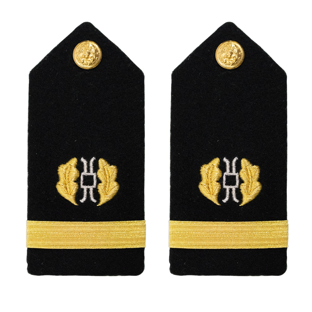 Navy Shoulder Board: Ensign Judge Advocate - female